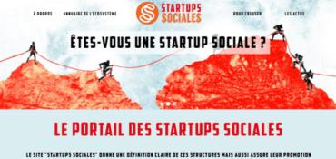 """Le site """"Startups Sociales"""" est en ligne"""