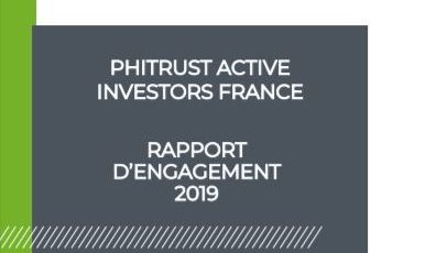 [Impact Actionnarial] Phitrust Active Investors France – Rapport d'Engagement 2019