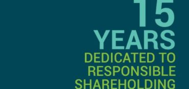 [Study] 15 years dedicated to responsible shareholding