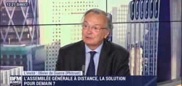 [Interview] [Engagement actionnarial] [BFM Business] Olivier de Guerre (Phitrust) appelle les investisseurs à fédérer leur engagement actionnarial