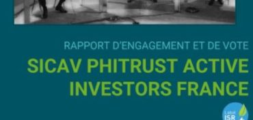[Press Release]  Phitrust Active Investors France 2021 Voting and Engagement Report